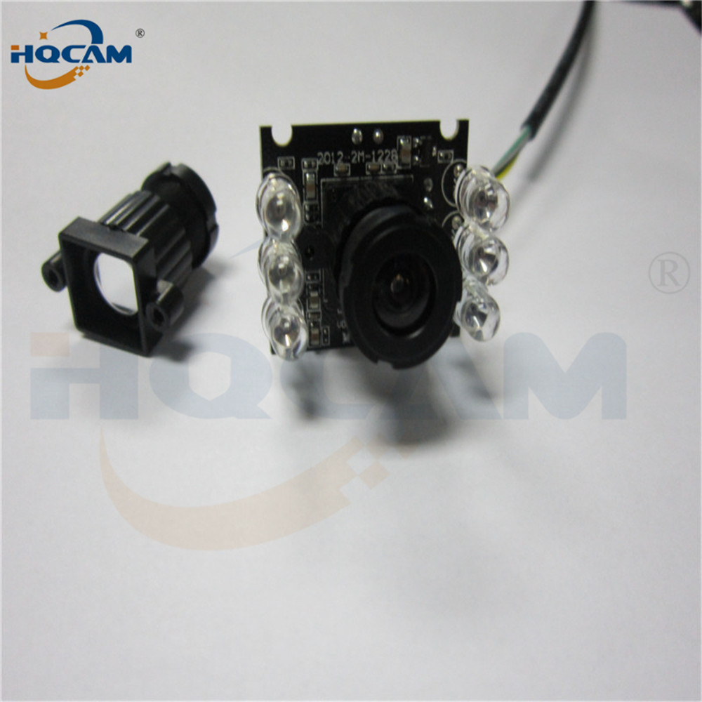 Image 3 - HQCAM 10PCS 850nm IR led 1080P Mini usb camera module IR infrared Night vision CMOS Board Camera for Android Linux Windows-in Surveillance Cameras from Security & Protection