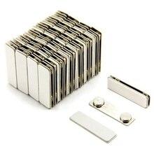 Porte badge nominatif magnétique 50 pièces
