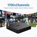 Android 6.0 IPTV Set Top Box Sky Itália REINO UNIDO DE Europeu Inteligente Caixa De TV Para A Espanha Portugal Rússia Turco Set Top Box Frete Grátis