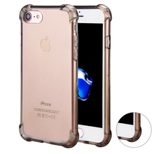 Ultra Slim Thin Soft Back TPU Rubber Clear Transparent Crystal Case Shockproof Corner Cover Shell for iPhone 6 6s