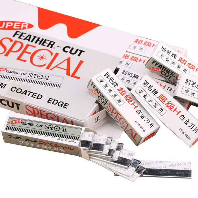 10pcs/Set Portable Eyebrow Trimmer Blade Makeup Safe Sharp Threading Stainless Steel Knife Women Beauty Tools Kit 3