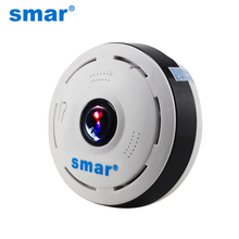 Smar 960P IP Camera 360 Degree Wireless Panoramic Home Security Mini Camera Wifi Fisheye 1.3MP P2P Cameras Baby Monitor
