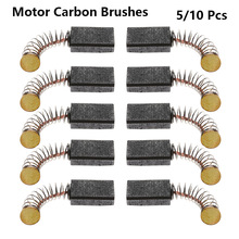 5/10 Pcs Mini Drill Electric Grinder Replacement Carbon Brushes Spare Parts For Electric Motors Rotary Tool 5x8x15mm