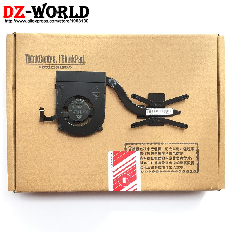 New Original for Lenovo ThinkPad X1 Yoga  X1 Carbon 4th Heatsink CPU Cooler Cooling Fan 00JT800 01AW976 new original cooling fan for lenovo thinkpad x201t cooler radiator heatsink