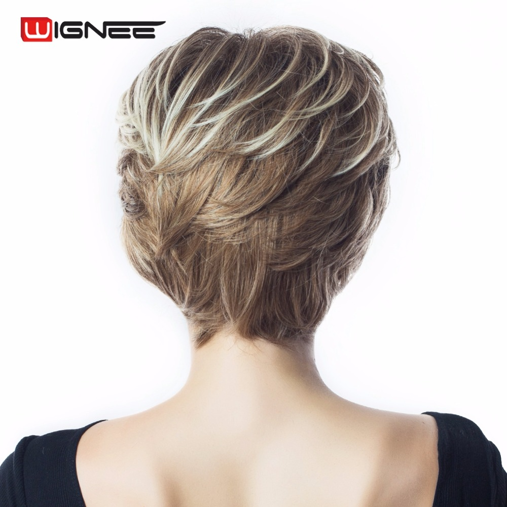Short Synthetic Wig (9)