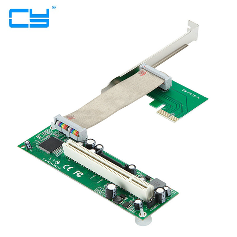 PCI-e To PCI Adapter PCIe To PCI Extension Card Support CREATIVE Sound Card Capture Card pci