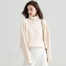 2018 Autumn And Winter New stylish cable-knit sweater Korean loose lazy style Sweater Pullover for women y8040