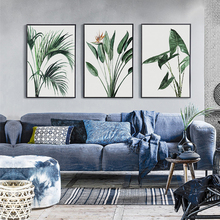 Green Plants Wall Paintings