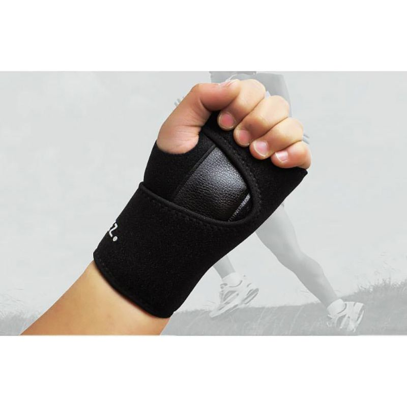 Outdoor Detachable Steel Splint Wrist Sprain Support Sports Brace Protector Braces Supports New