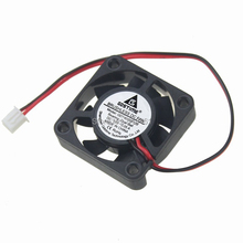 5pcs/lot Gdstime 12V 2Pin Ball Bearing 40x40x10mm 40mm 4cm Mini DC Brushless Computer Cooling Fan