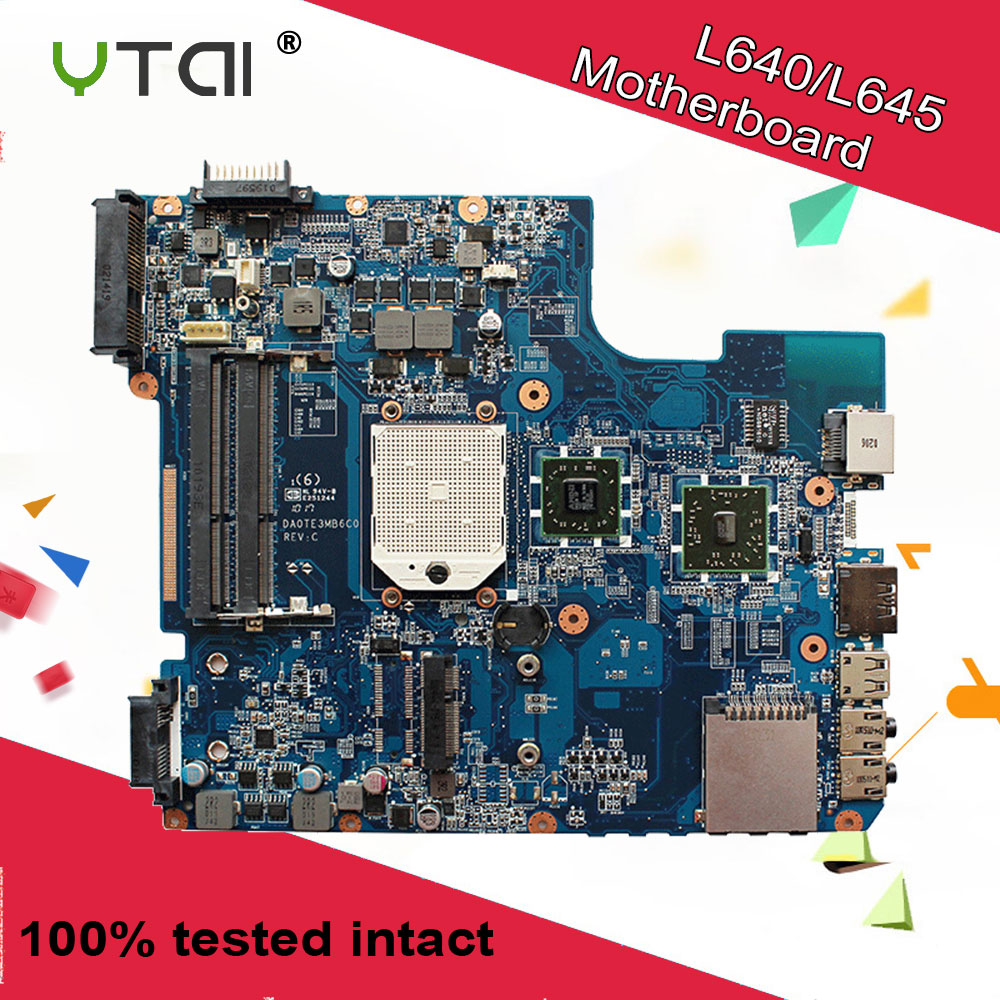 DA0TE3MB6C0 REV:C For Toshiba L640 L645D  motherboard DDR3 A000073410 AMD laptop motherboard free shipping 100% tested intactDA0TE3MB6C0 REV:C For Toshiba L640 L645D  motherboard DDR3 A000073410 AMD laptop motherboard free shipping 100% tested intact
