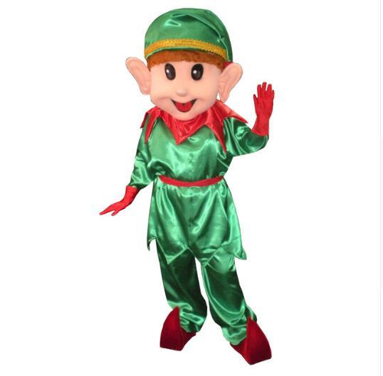 Adulti Natale Fancy Dress Costume Elfo di Natale partito Santas helper partito Outfit