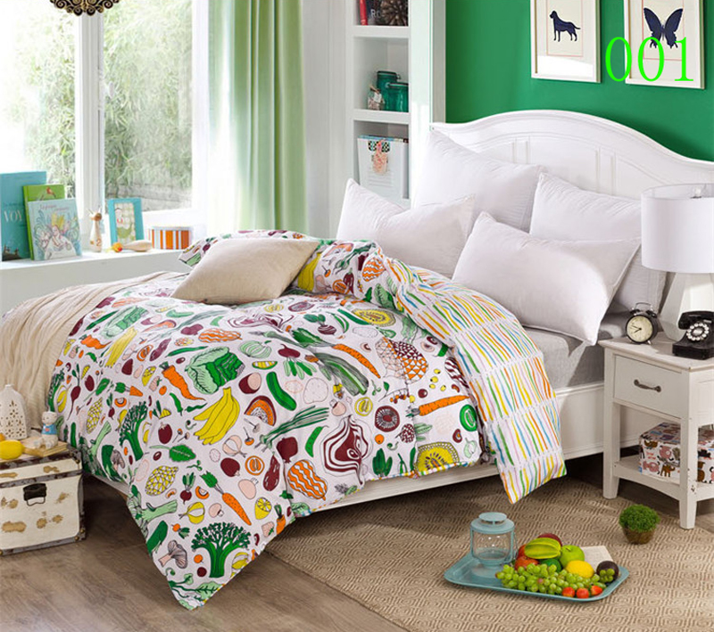 Fruit Vegetable 1Pc Cotton Twin Full Queen King Bed Comforter Cover Duvet  Cover quilt cover Bedding. Compare Prices on Bed Comforter Cover  Online Shopping Buy Low