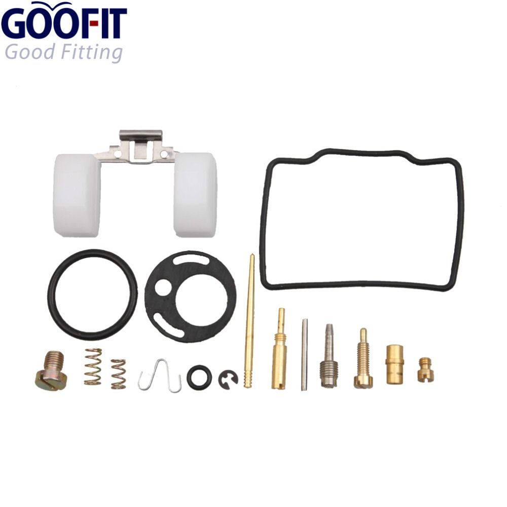 GOOFIT PZ16 16mm <font><b>Carburetor</b></font> Repair Rebuild Kits for <font><b>70cc</b></font> Peace Kazuma ATV Dirt Bike Go Kart A012-021 image