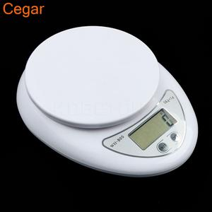 Digital Electronic Kitchen Scales Food Balance Measuring