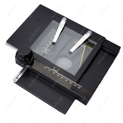 AmScope supplies X Y Gliding Table Manual Stage For Microscopes