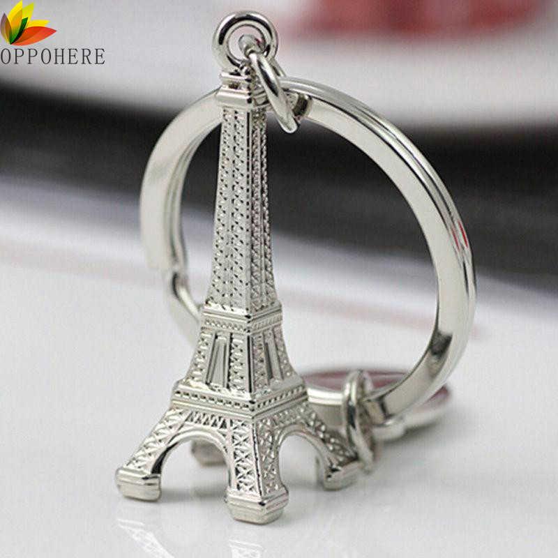 OPPOHERE Torre Брелок «Эйфелева башня» для ключи, сувениры, Париж Тур брелок с Эйфелевой башней Брелок Украшение с кольцом для ключей