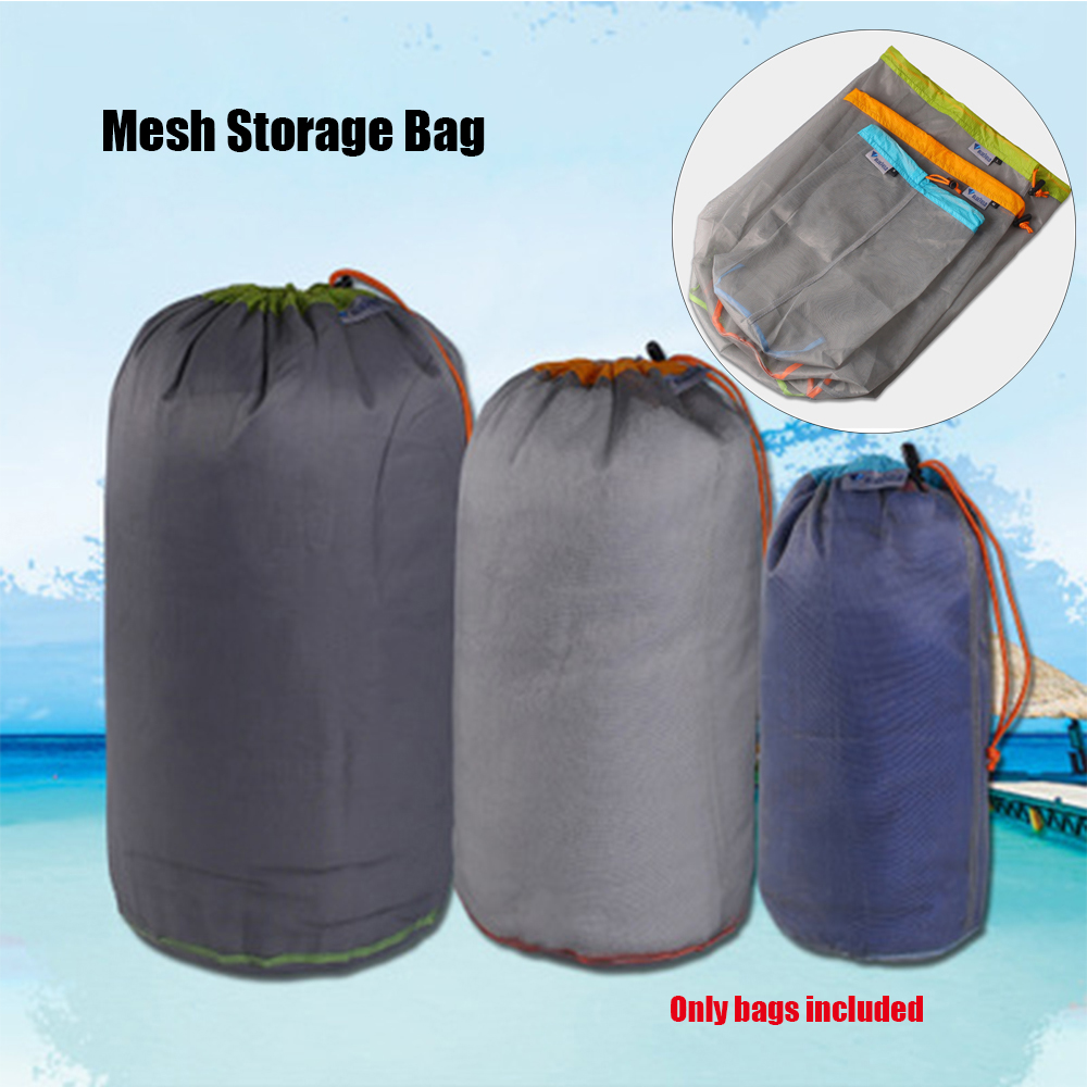 Waterproof Travel Drawstring Storage Bag Laundry Pouch Portable Stuff Sack