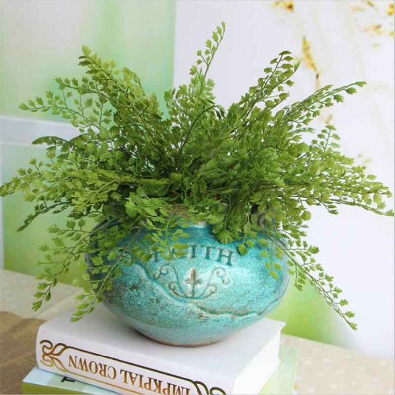 High quality artificial plant grass simulation plant leaf creative plastic green plant home bedroom wedding new year decorationHigh quality artificial plant grass simulation plant leaf creative plastic green plant home bedroom wedding new year decoration