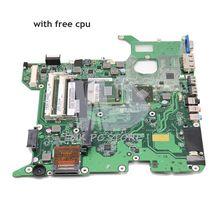 NOKOTION Für Toshiba Satellite L455 Laptop Motheboard NBWAA LA-5821P K000085450 Wichtigsten Bord GL40 DDR2 Freies cpu