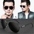 2016 dos homens novos óculos de sol da moda óculos de sol gemajing óculos de condutores do sexo masculino óculos de condução polariscópio óculos de condução frete grátis