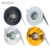 Dimmable 3W Mini Led Cabinet Lamps led downlight AC85-265V Spot light lamp include driver For Kitchen Wardrobe