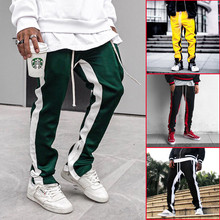 ZK Men's Casual Pants Color Matching