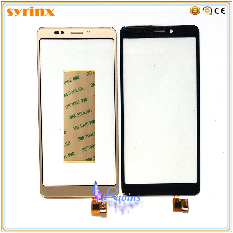 SYRINX Mobile phone Touch Panel Sensor Touchscreen For BQ BQ-5522 BQ5522 BQ 5522 Next Touch Screen Front Glass Lens 3M Tape