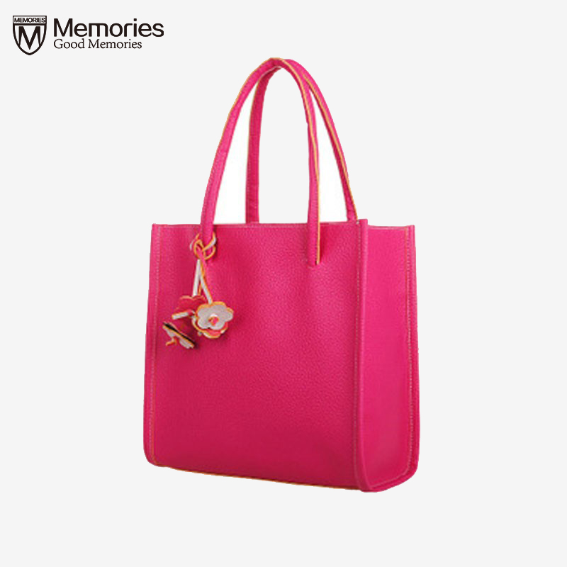 Women messenger bags Fashion Elegant Girls Handbags Leather Shoulder 9 Colors Flower clutch Ladies Tote Bags