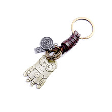Customizable Janet Healy Leather Keychain