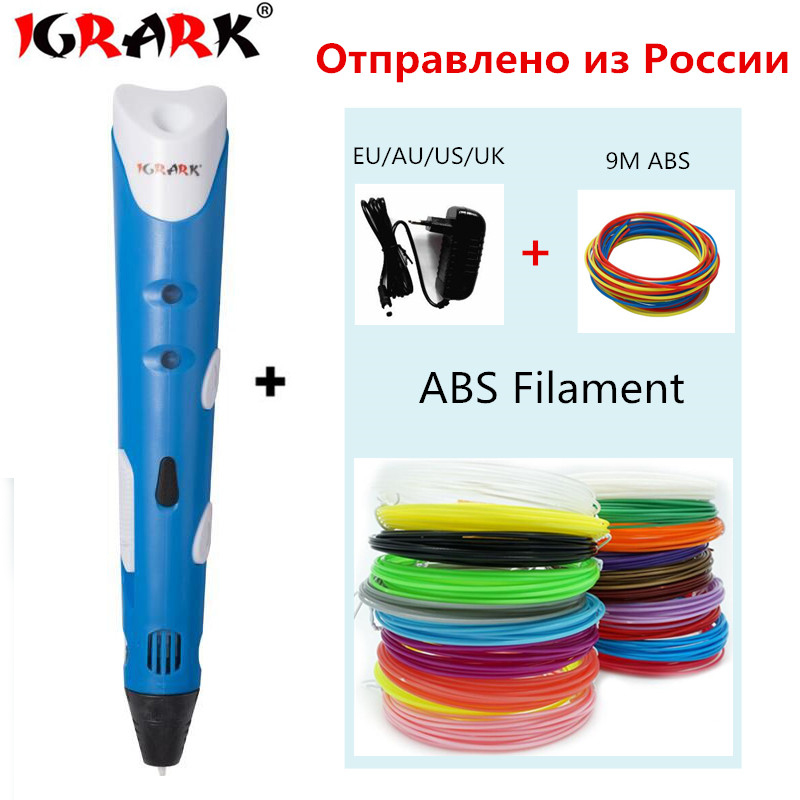 3d-Pen Filament Painting Christmas-Gift Design Kids Drawing DIY ABS/PLA For Add-Free