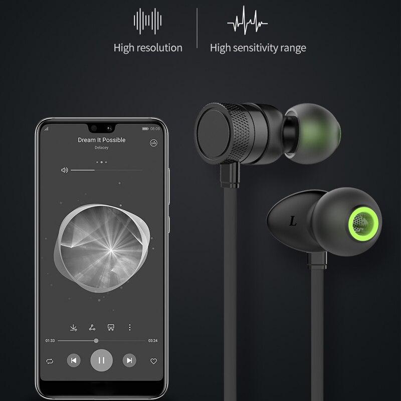 WT20 Bluetooth écouteur casque sans fil casque avec micro bande de cou stéréo Sport fone de ouvido écouteurs pour iPhone Xiaomi