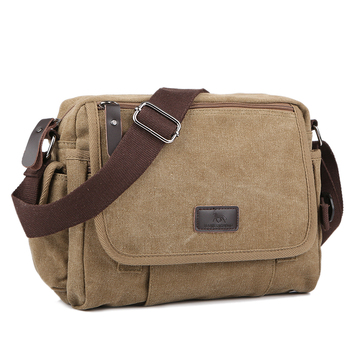 цена Casual Canvas Men Small Shoulder Bag Vintage Satchel Retro Crossbody Sling For Leisure Male Messenger Handbag Bolsa Feminina онлайн в 2017 году