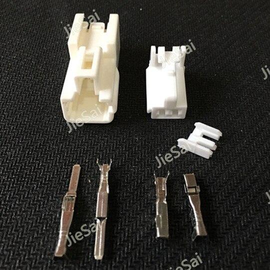 2 Pin PA66 Weiblich Männlich Kfz kabel Stecker Auto Licht ABS ...