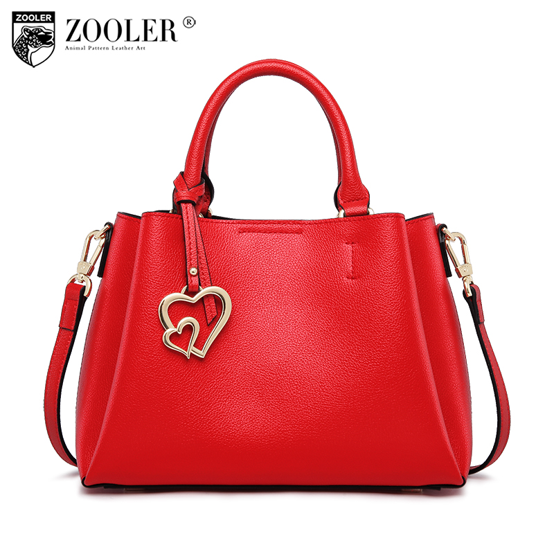 ZOOLER bags handbags women famous brands designed genuine leather woman bag shoulder bags luxury high quality handbags#y105 2018 top quality bags handbags type women famous brands genuine leather bag ladies classic bags zooler woman tote bags y101