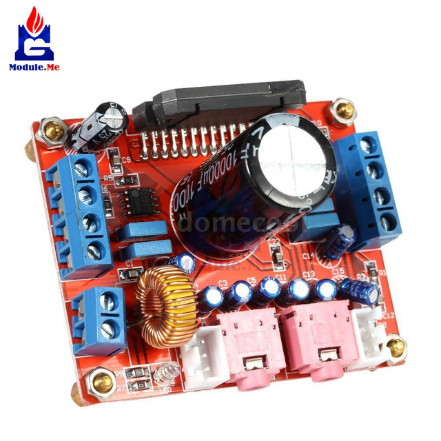 Best Offers DC 12 V TDA7850 4 * 50 W Car Audio Power Amplifier Module BA3121 Noise Reduction Module Amplifier Breadboard