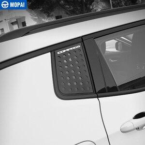 Image 3 - MOPAI Auto Außen Hinten Fenster Dreieck Glas Dekoration Abdeckung Trim Aufkleber für Jeep Kompass 2017 Up Auto Zubehör Styling