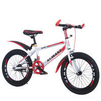 New children's mountain bike 18/20/22/24inch boys and girls bicycle single speed and 7-speed high carbon steel kid's bike