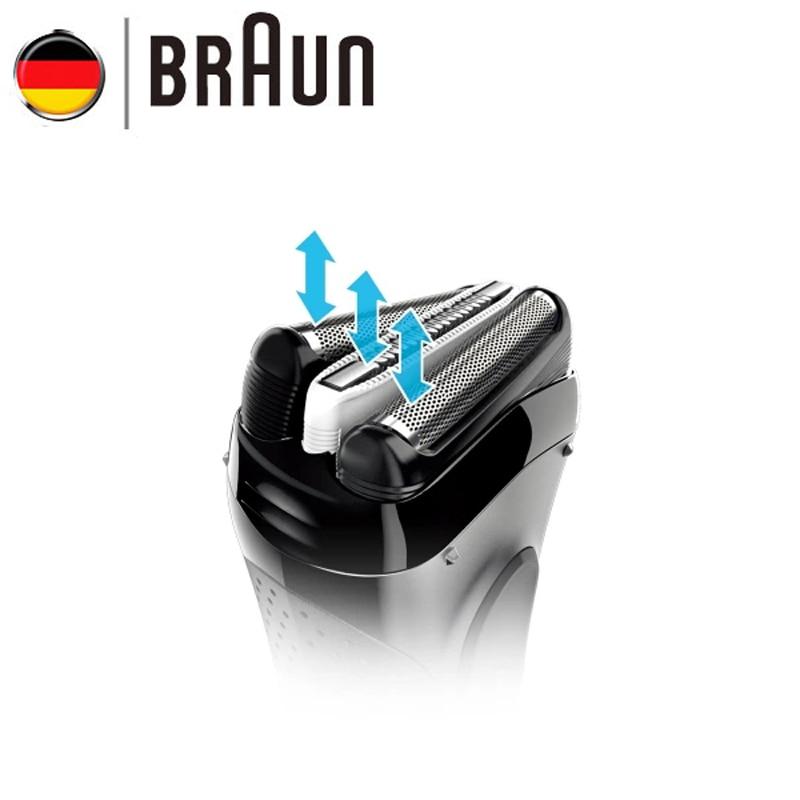Orignal Braun Series 3 Electric Razors 3020S Blades Reciprocating Shaving Machine Electric Shaver For Men Hair Trimmer - 3