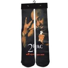 Raisevern new hip hop style 3D socks tupac 2pac/biggie/uncle sam/dollars funny full printed fitness socks drop ship