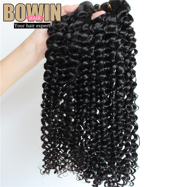 Grade 7A Peruvian Curly Virgin Hair Unprocessed Deep Wave 4pcs lot High quality Human Hair Weaves No shedding No tangle