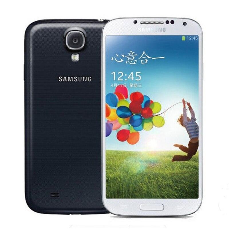 100% original samsung galaxy S4 i9500 teléfono móvil 13MP Cámara 2 GB RAM 16 GB ROM 5.0