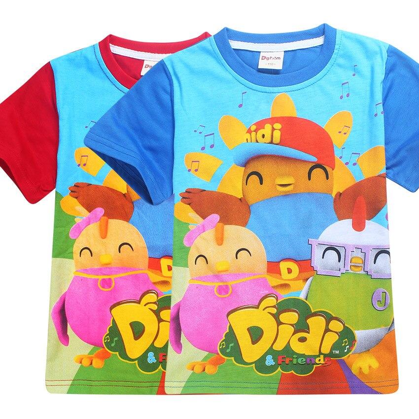 2018 новый милый Эй duggee детская одежда футболка для мальчиков Roupas infantis Menino тролли футболка для девочек Одежда для мальчиков детские футболки ...