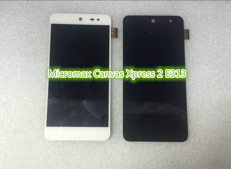 For Micromax Canvas Xpress 2 E31  Display with Touch Screen digiziter  free shipping чехол флип для micromax e311 canvas nitro 2 белый armorjacket