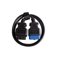 OBD2 Extension cable OBDII extend cable 16 pin male to 16 pin female cable 1.5 meters for obdii diagnostic connection