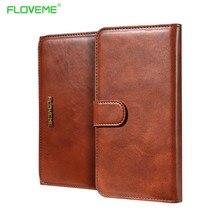 Floveme новый роскошный ретро кожаный бумажник флип чехол для iPhone 7 7 плюс 6 6S телефон Coque для Samsung Galaxy S8 S8 Plus