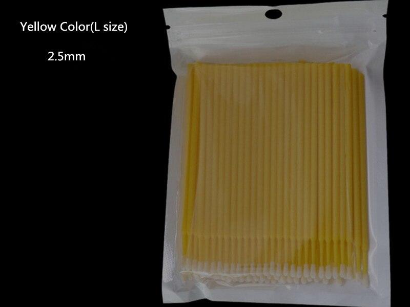 remocao cotonete micro escova para ferramentas de extensao cilios frete gratis 05