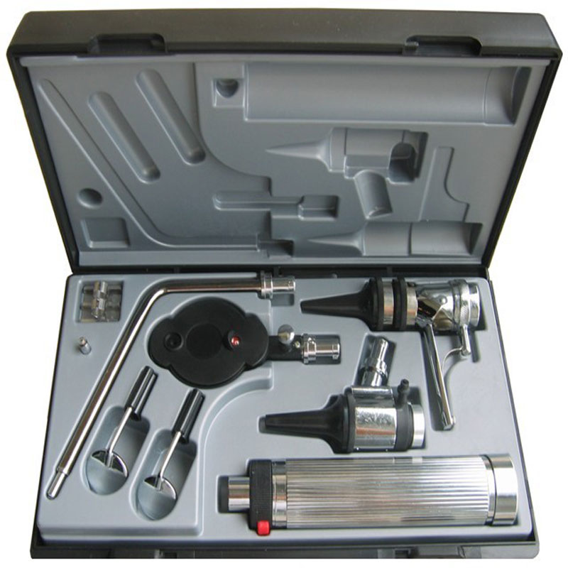 Многоцелевой набор Professional Medical Diagnositc отоларингологический набор прямое ухо медицинский Отоскоп Офтальмоскоп диагностическое устройство