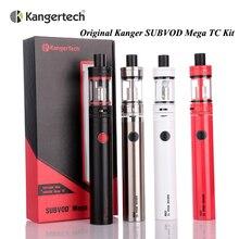 Original Kanger SUBVOD Mega TC Kit with 4ml Topfill Tank 2300mah Battery Temperature Control Subvod Mega TC Kit E Cigarette