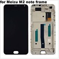 """5.5"""" Lcd display+Touch panel screen digitizer +Frame assembly repair parts for Meizu Meilan m2 note 2 meiblue Note2 M571"""